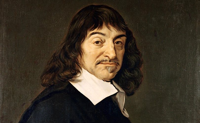 Rene Descartes travel website design
